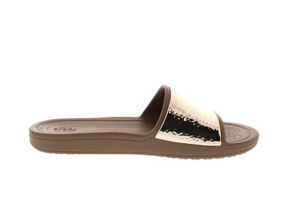 CROCS Pantoletten - SLOANE Embellished Slide - bronze preview 4