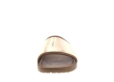 CROCS Pantoletten - SLOANE Embellished Slide - bronze preview 3