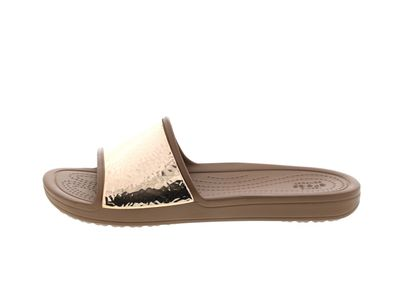 CROCS Pantoletten - SLOANE Embellished Slide - bronze preview 2