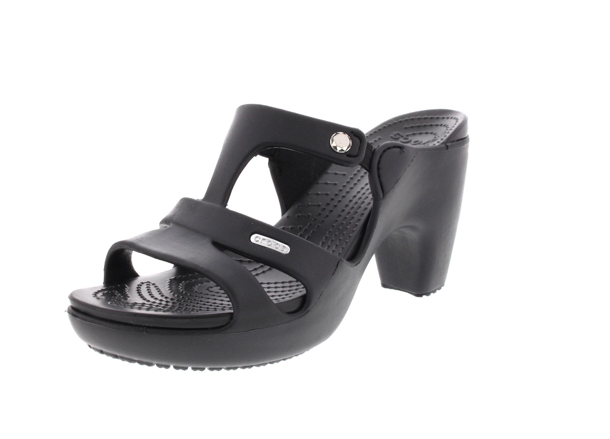 CROCS Damenschuhe - Pantolette CYPRUS V HEEL - black0
