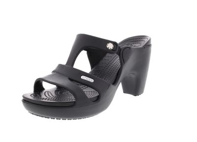 CROCS Damenschuhe - Pantolette CYPRUS V HEEL - black preview 1