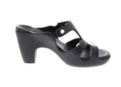 CROCS Damenschuhe - Pantolette CYPRUS V HEEL - black preview 4