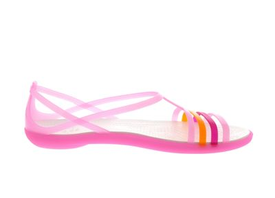 CROCS Sandalette - ISABELLA SANDAL - carnation white preview 4