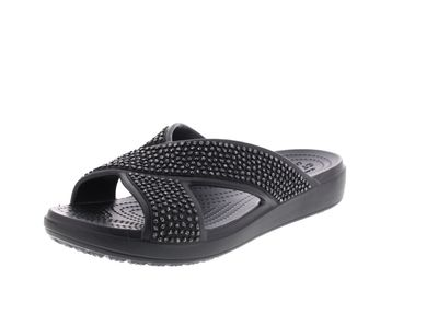 CROCS Pantoletten - SLOANE Embellished XStrap - black preview 1
