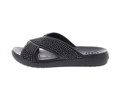 CROCS Pantoletten - SLOANE Embellished XStrap - black preview 2