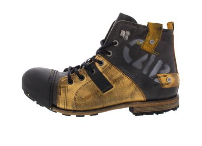 YELLOW CAB Boots - INDUSTRIAL 15012 - yellow black preview 2