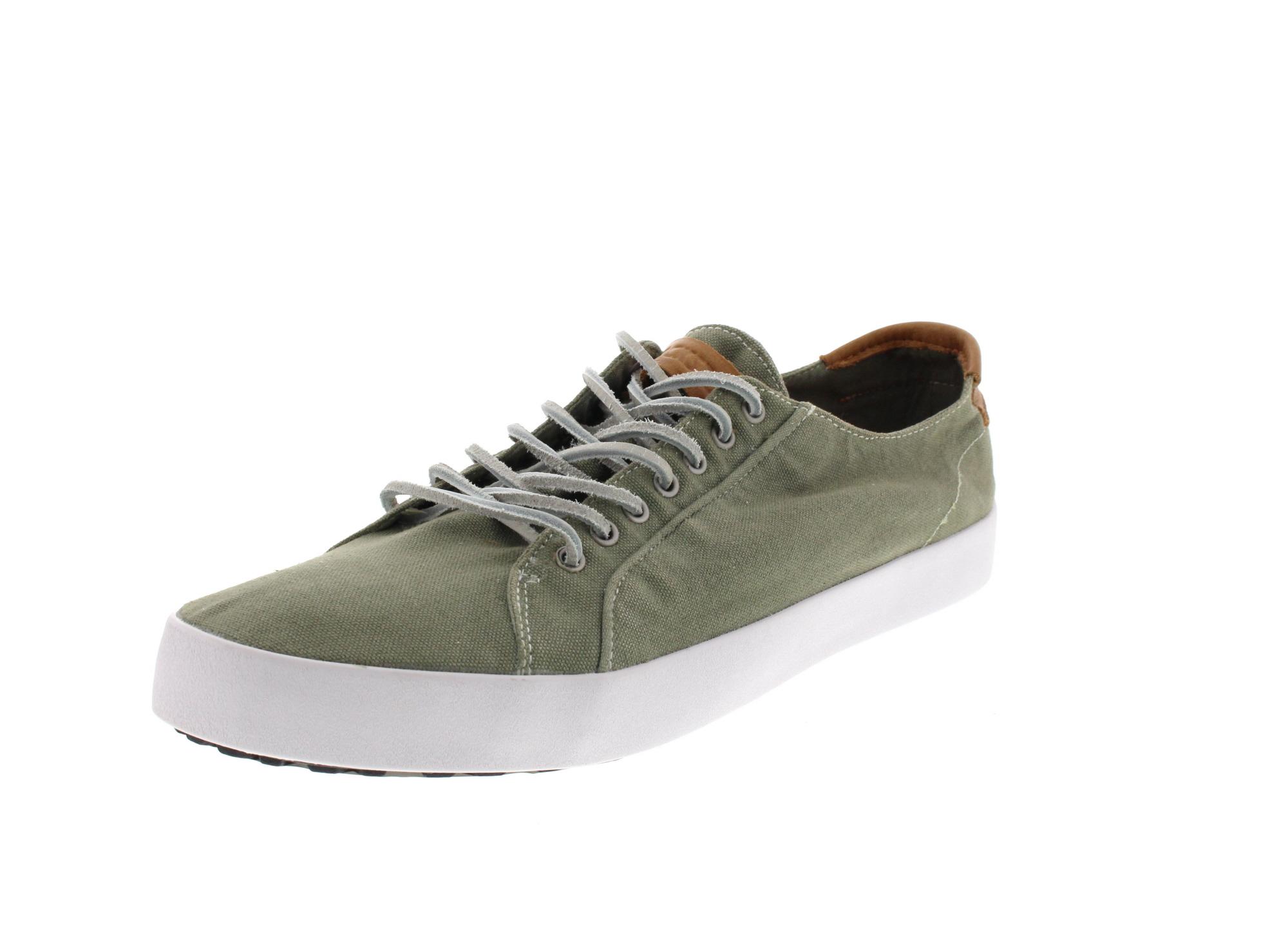 BLACKSTONE in Übergröße - Sneakers NM95 - oiled green