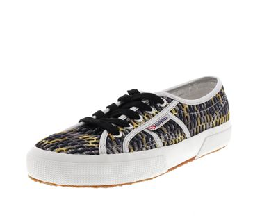 SUPERGA - Sneakers MESHMULTICOLW 2750 grey dark yellow