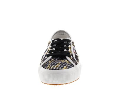 SUPERGA - Sneakers MESHMULTICOLW 2750 grey dark yellow preview 3