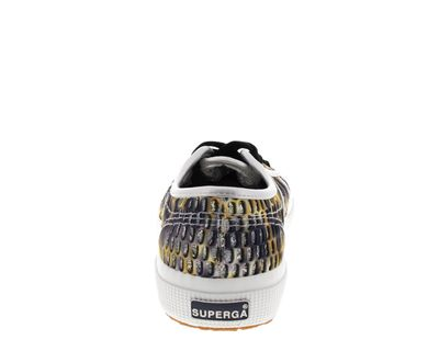 SUPERGA - Sneakers MESHMULTICOLW 2750 grey dark yellow preview 5