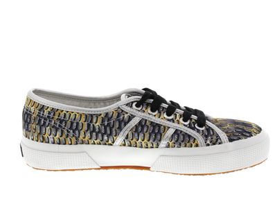 SUPERGA - Sneakers MESHMULTICOLW 2750 grey dark yellow preview 4