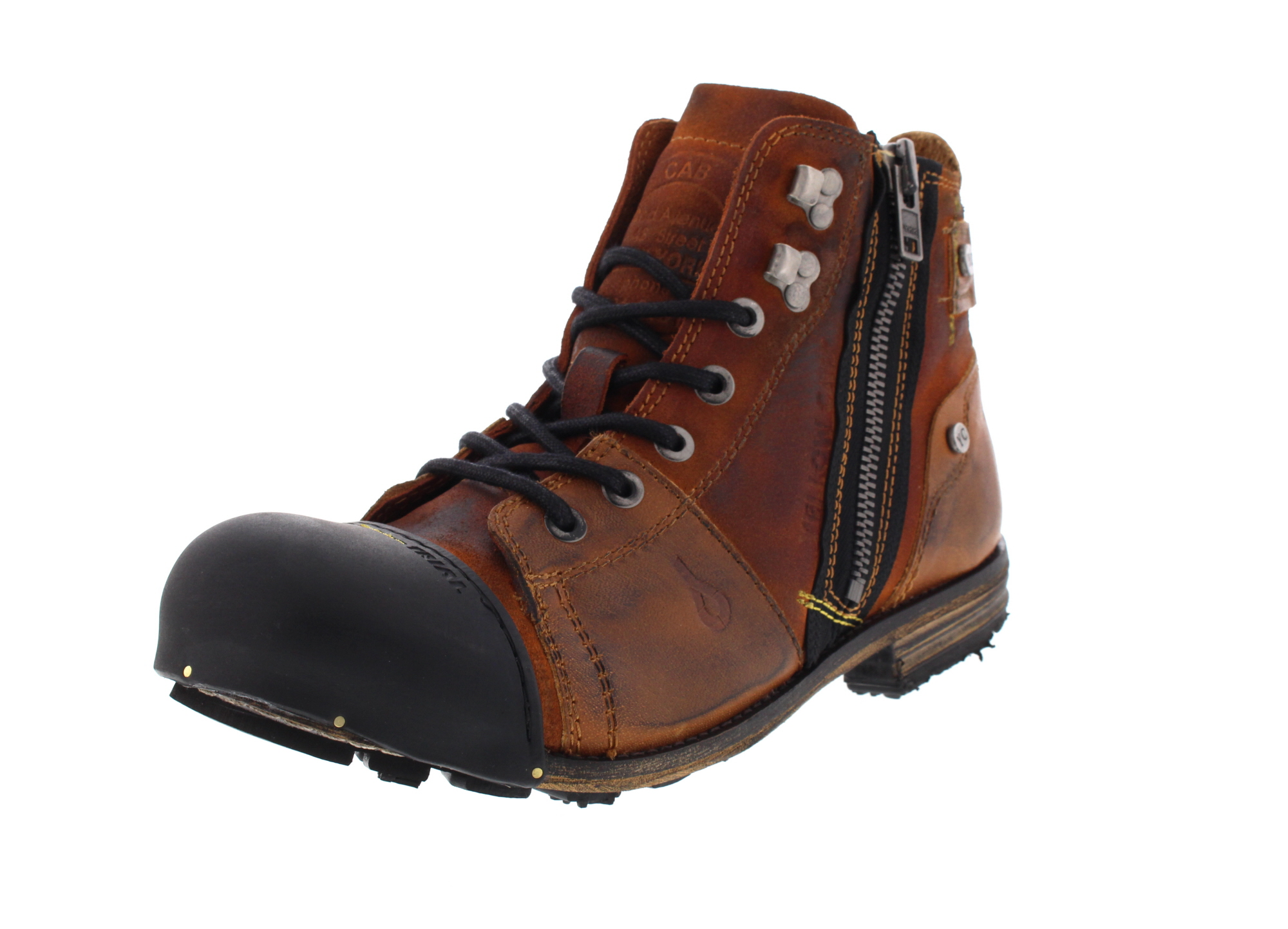 YELLOW CAB Herrenschuhe - Boots INDUSTRIAL 15419 - tan0