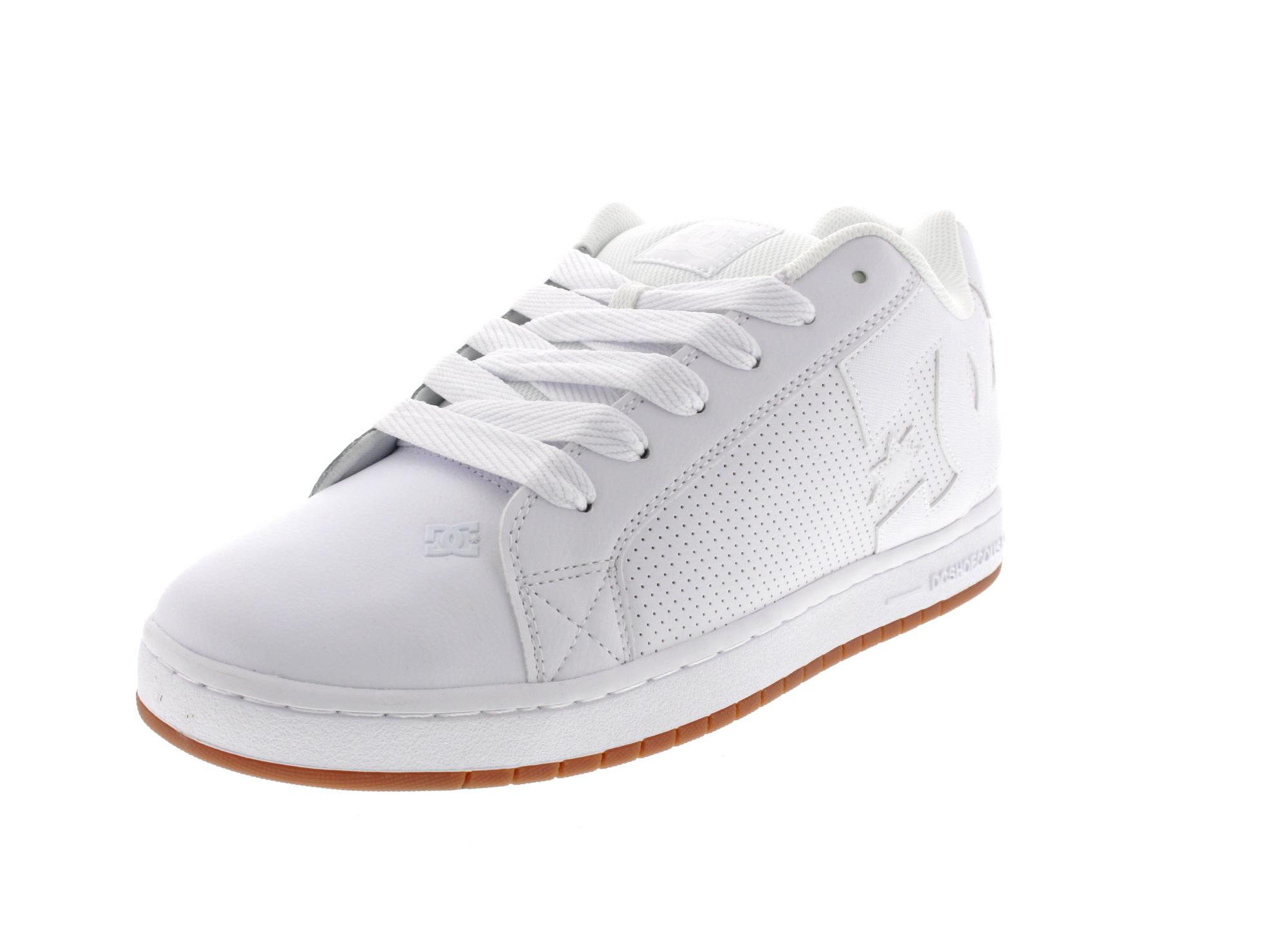 DC Sneaker in Übergrößen COURT GRAFFIK 300529 white gum