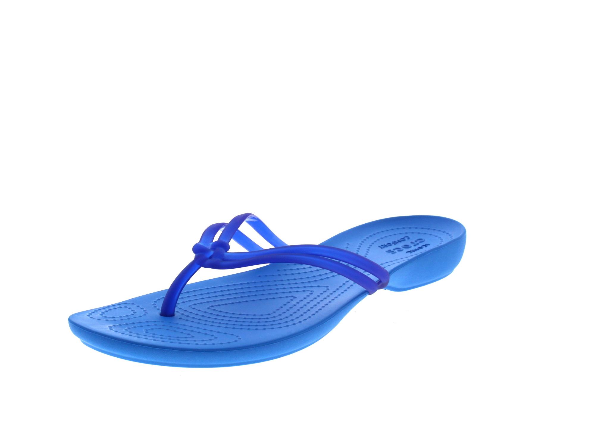CROCS Schuhe - Zehentrenner ISABELLA FLIP - cerulan ocean0