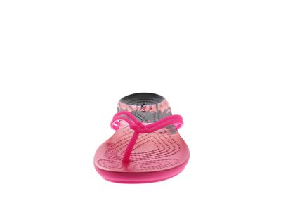 CROCS Schuhe ISABELLA GRAPHIC FLIP candy pink tropical preview 3