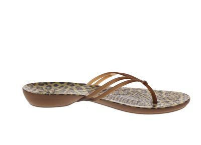 CROCS Zehentrenner ISABELLA GRAPHIC FLIP - leopard preview 4