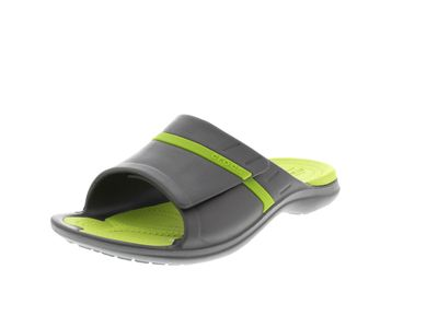 CROCS in Übergröße MODI SPORT SLIDE graphite volt green