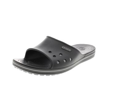 CROCS in Übergröße - CROCBAND II SLIDE - black graphite