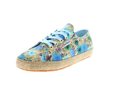 SUPERGA - Sneakers FABRICFANPLROPEW 2750 natural azul