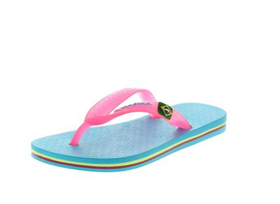 IPANEMA Kinderschuhe - CLASSIC BRASIL 80416 - blue pink preview 1