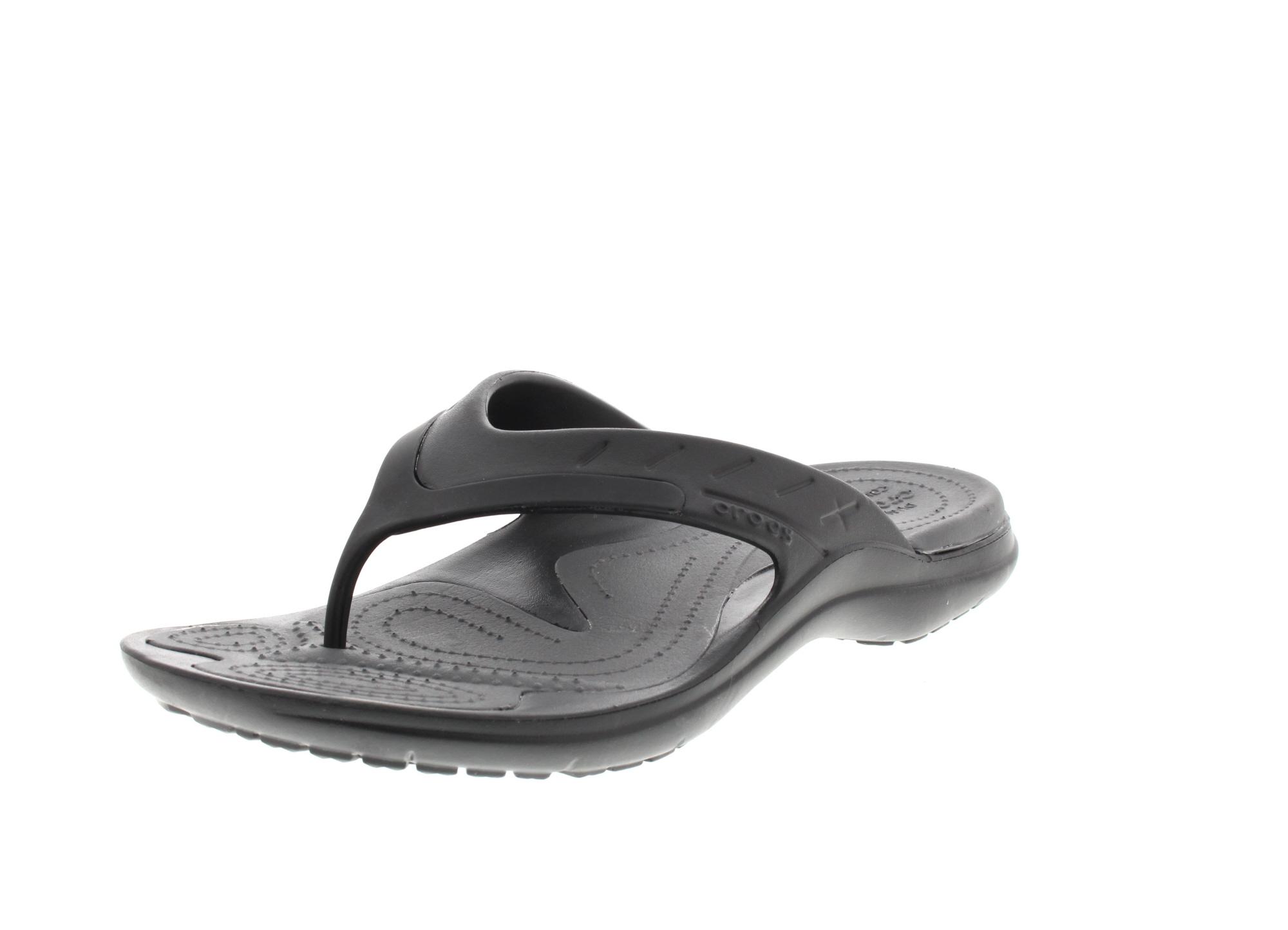 CROCS Zehentrenner - MODI SPORT FLIP - black graphite0