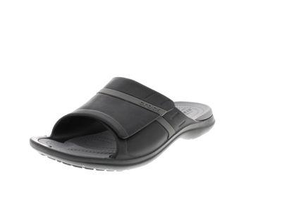 CROCS Pantoletten - MODI SPORT SLIDE - black graphite