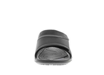 CROCS Pantoletten - MODI SPORT SLIDE - black graphite preview 3