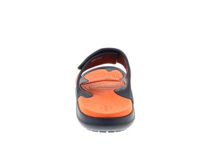 CROCS Pantoletten - MODI SPORT SLIDE - navy tangerine preview 5