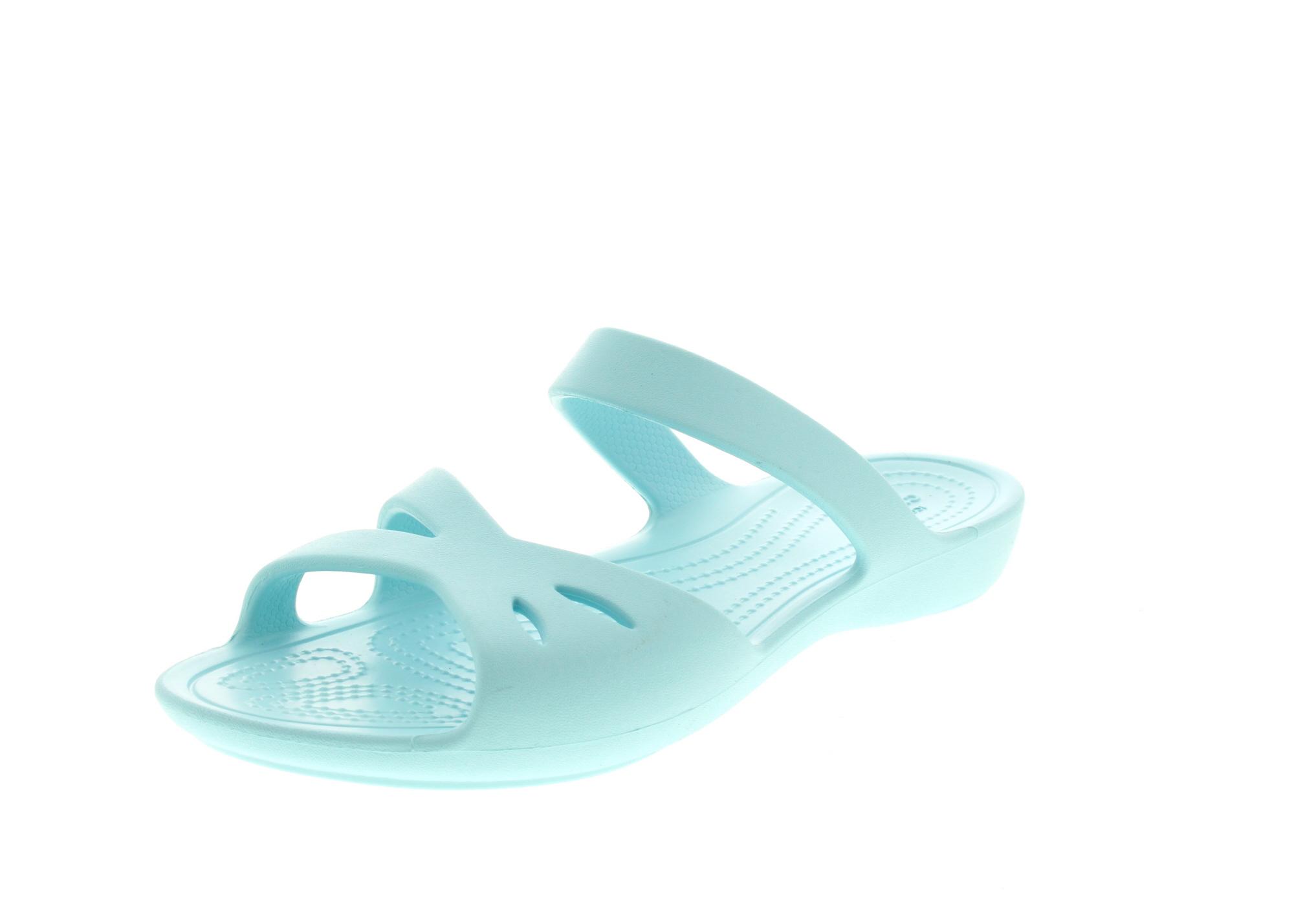CROCS Schuhe - Pantoletten KELLI OL SANDAL - ice blue0