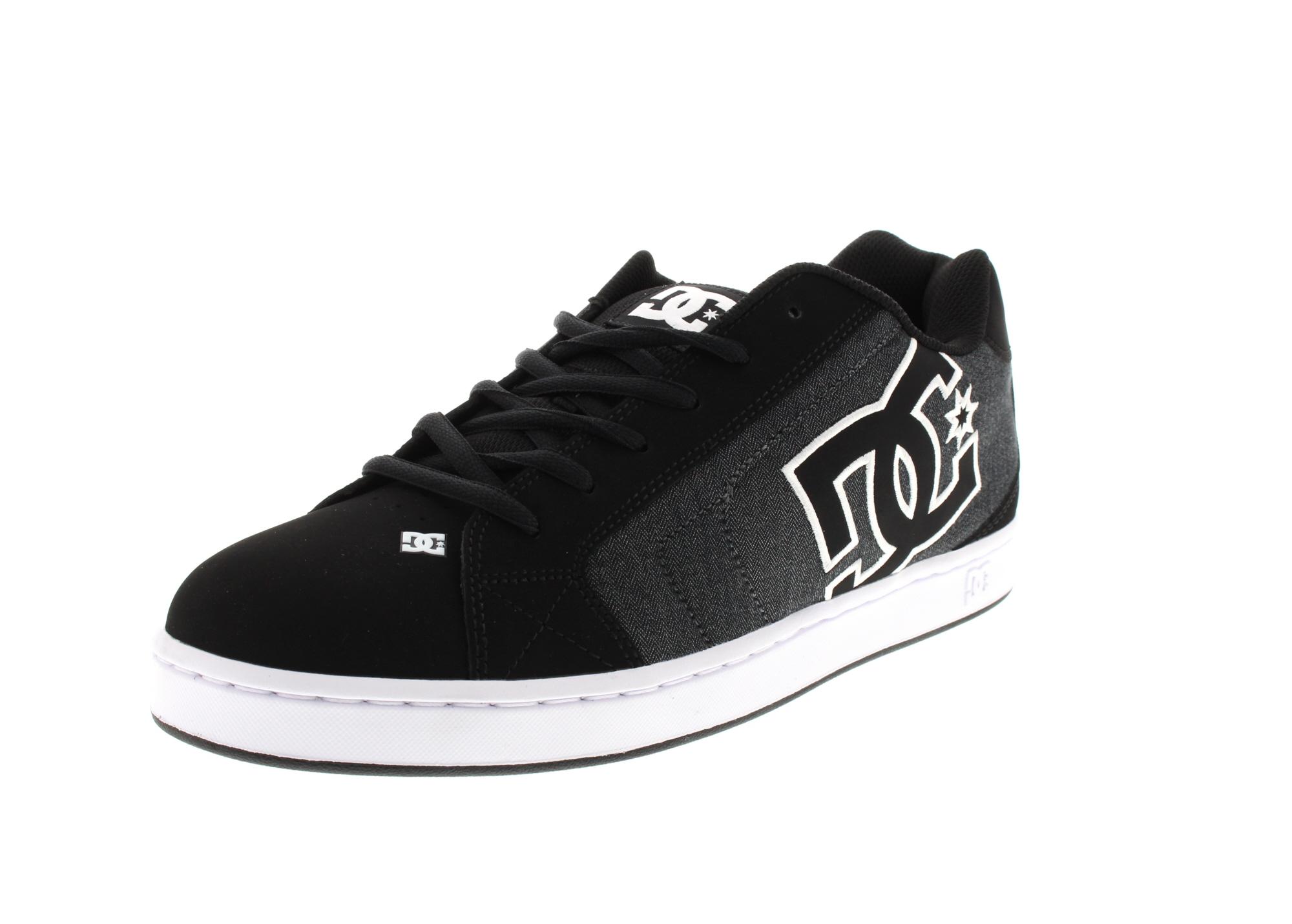 DC Sneakers in Übergrößen - NET SE - black destroy wash