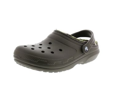 CROCS - CLASSIC LINED GRAPHIC CLOG - dark camo green