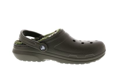 CROCS - CLASSIC LINED GRAPHIC CLOG - dark camo green  preview 4