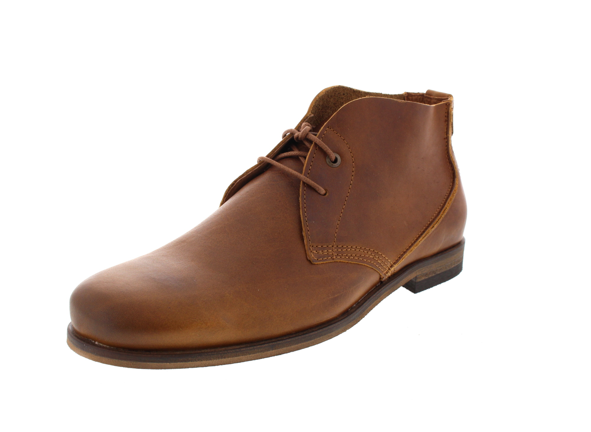 HAGHE by HUB Herrenschuhe - Boots SPURS - cognac_0