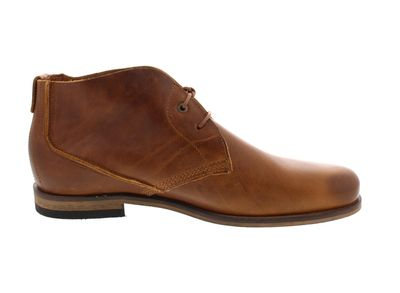 HAGHE by HUB Herrenschuhe - Boots SPURS - cognac preview 4