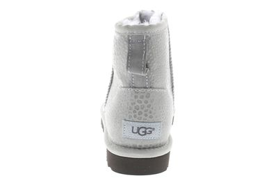 UGG Damen Stiefeletten CLASSIC MINI GLITZI grey violet preview 5