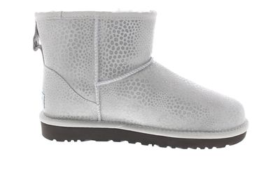 UGG Damen Stiefeletten CLASSIC MINI GLITZI grey violet preview 4