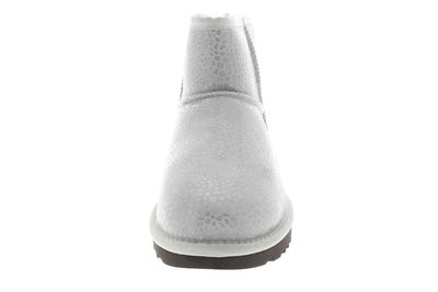 UGG Damen Stiefeletten CLASSIC MINI GLITZI grey violet preview 3