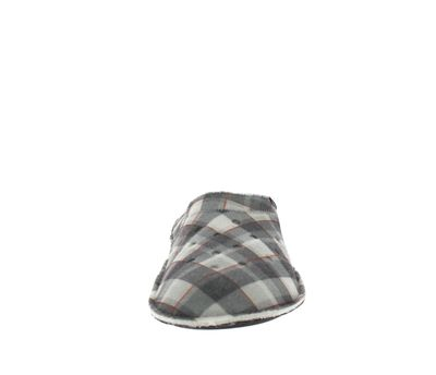 CROCS Hausschuhe - CLASSIC PLAID SLIPPER - black oat preview 3