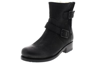 BLACKSTONE Damen Stiefeletten BUCKLE BOOT OL46 - black