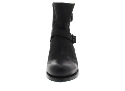 BLACKSTONE Damen Stiefeletten BUCKLE BOOT OL46 - black preview 3