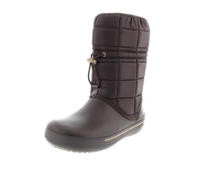 CROCS Stiefel CROCBAND WINTER BOOT II.5 espresso khaki