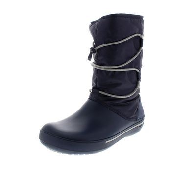 CROCS Winterstiefel - CROCBAND II.5 CINCH BOOTS - navy