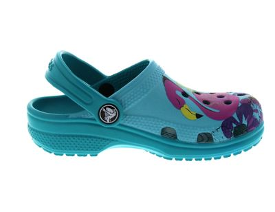 CROCS Kinderschuhe - CLASSIC GRAPHIC CLOG - turquoise preview 4