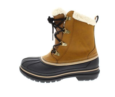 CROCS Herren reduziert - ALLCAST II BOOTS wheat black  preview 2