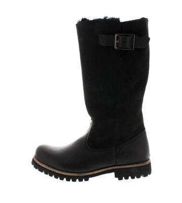 BLACKSTONE Damenstiefel - HIGH BOOT BUCKLE OL04 - black preview 2