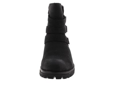 BLACKSTONE Damenschuhe HIGH BOOT BUCKLE FUR OL14 black preview 3