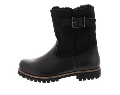 BLACKSTONE Damenschuhe - HIGH BOOT BUCKLE OL05 - black preview 2