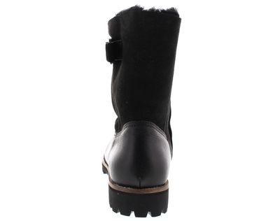 BLACKSTONE Damenschuhe - HIGH BOOT BUCKLE OL05 - black preview 5