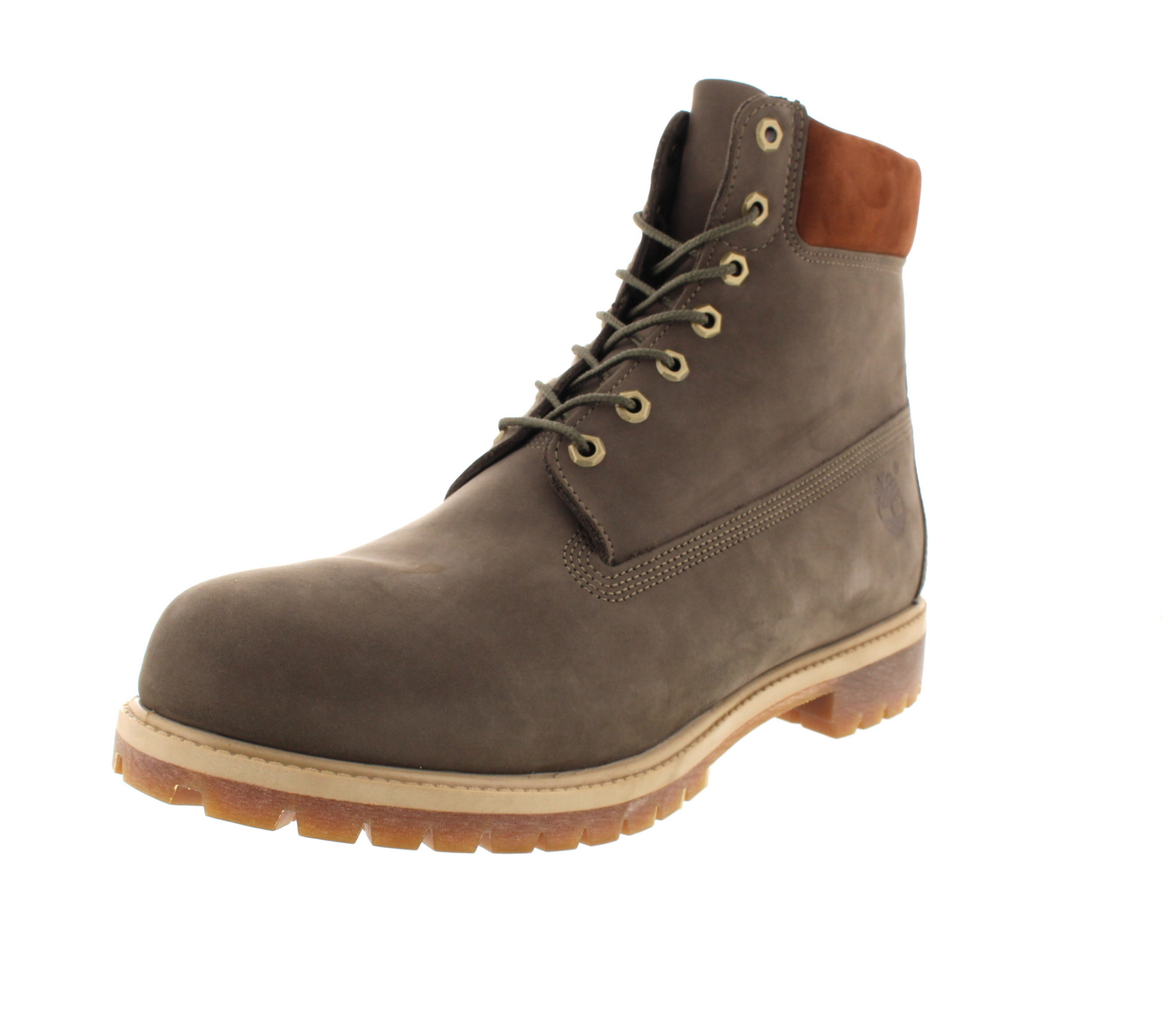 TIMBERLAND in Übergröße 6 Inch Premium Boots A1LXJ olive