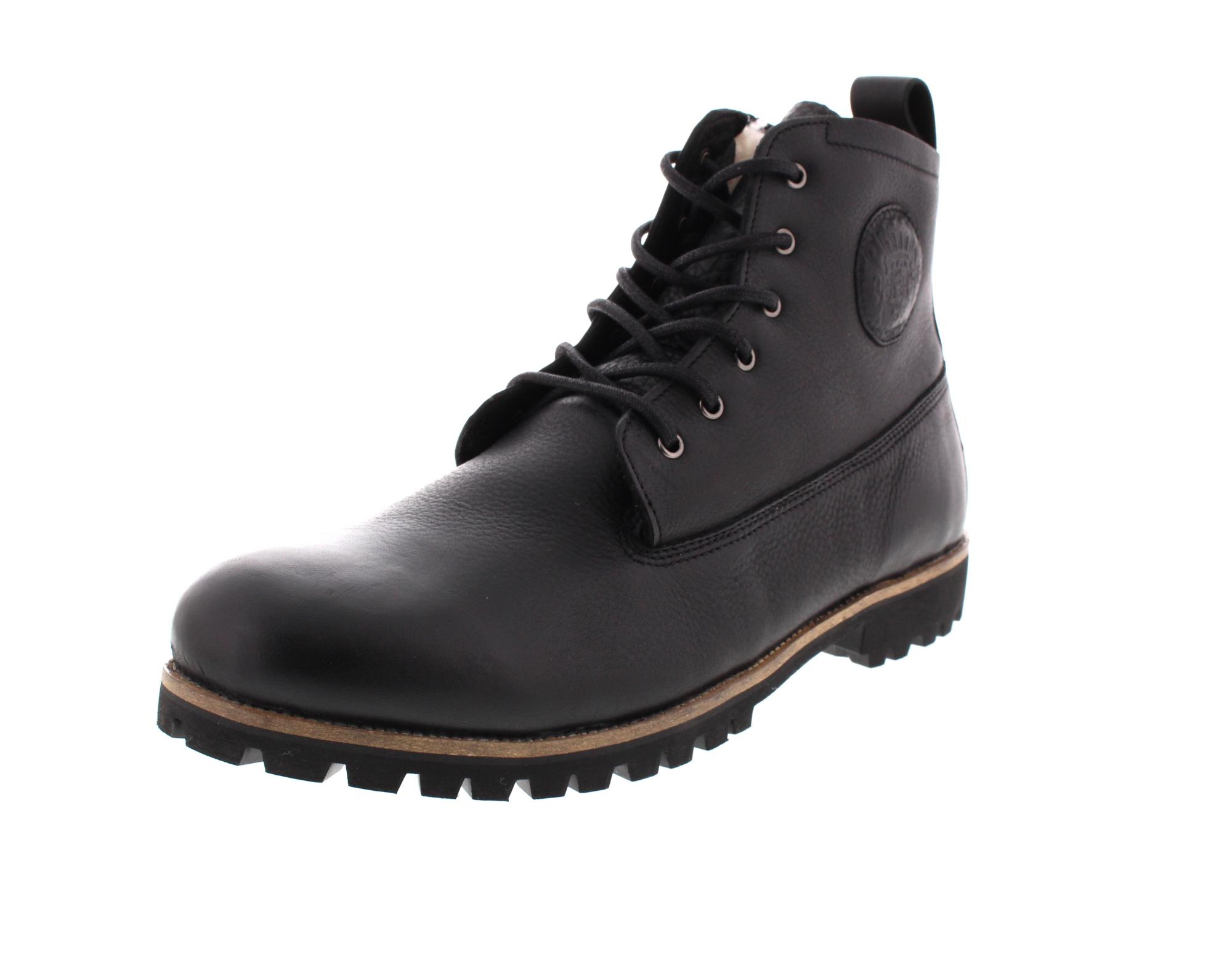 BLACKSTONE in Übergröße - gefütterte Boots OM60 - black